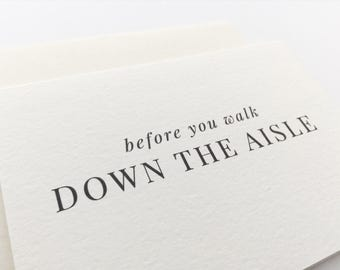 To My Groom Bride Wedding Stationery Day Card