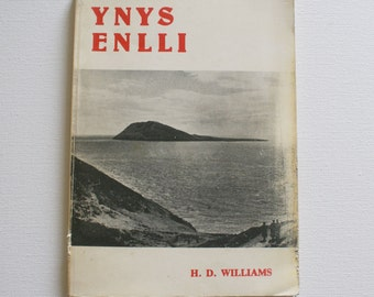 Ynys Enlli  H.D Williams ( Bardsey Island) Welsh language book