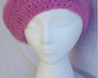 Pretty in Pink beret