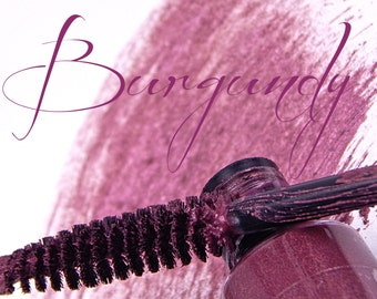 Burgundy Natural Vegan Mascara - Burgundy MS-18 -