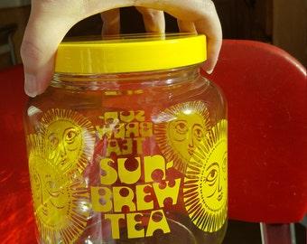 Vintage Sun Tea Jar
