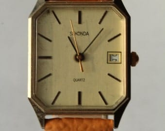 Soviet watch. Vintage watct. soviet watch. Sekonda.Quartz.Date