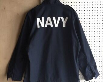 Vintage German Navy Jacket