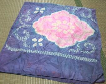 Blue  Hekoobi / obi belt for kimono/ scarf