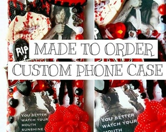 Custom Made To Order Bling Phone Case Any Theme Any Phone decoden