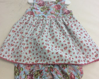 Litgle Girl Top,and Matching Bloomers