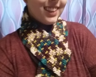 Dots and Stripes Scarf