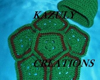 Turtle baby photo prop , newborn turtle photo prop , turtle baby outfit photo , turtle baby shower gift