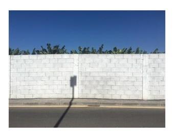 street photography shadow hot sunshine free delivery print art wall art decor image stylish minimalist modern hanging shape colour bright