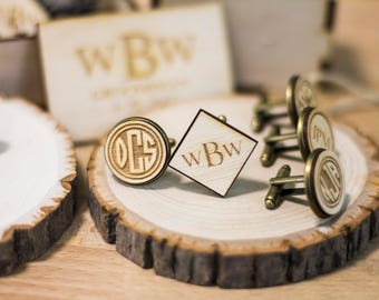 Personalized custom cufflinks wedding cufflinks monogram cufflinks engraved cufflinks, mens cufflinks, groom cufflinks, personalized gift