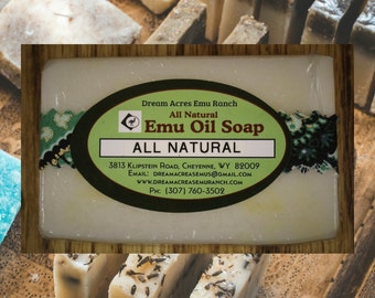 Natural - Emu Oil Soap