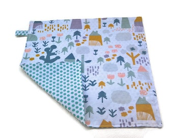 Child table napkin double face