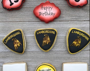 Lamborghini Cookies