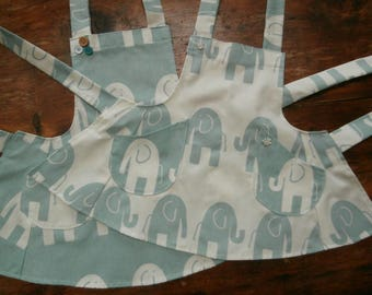 Elephants on Parade adult and youth sized aprons, prices vary