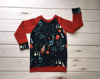 Science Shirt - Toddler Science Shirt - Boys Science Shirt - Girls Science Shirt - Retro Kids Shirt - Science Clothes - Geeky Toddler Shirt