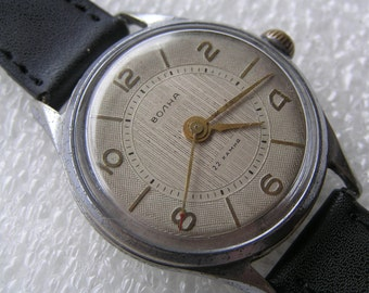 Russian wrist mens Watch VOLNA USSR 22 jewels - Serviced