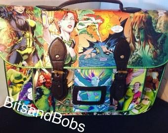 LARGE Satchel Poison Ivy Custom Bag