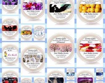 2oz/36gm wax melt pots highly scented over 48 hour scent throw