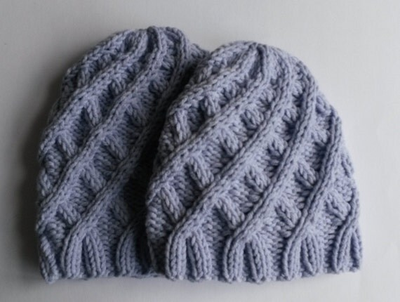 Aran Baby Hat: handknit baby cap. Baby shower gift. Made in Ireland. Sizes available - newborn, 6 to 9 month. Original design. Cute & cosy!
