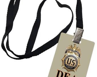 DEA Novelty ID Badge Prop Costume Drug Enforcement 0045