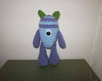 Monster Toy, One Eyed Monster, Stuffed Monster Toy, Plushie Soft Monster