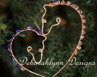 REARVIEW MIRROR Ornament, Comet & Cupid, Wire Horse Suncatcher, Rearview Mirror ornament, Horse Lover, Horse theme gift, Wire Horse,