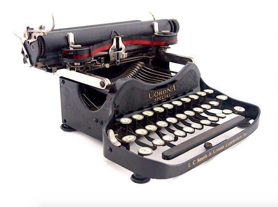 corona sp cial des ann es 1910 mod le 3 machine crire. Black Bedroom Furniture Sets. Home Design Ideas