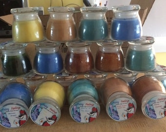 Small Handmade Scented Candles