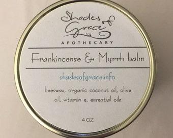 Frankincense & Myrrh Balm, Shades of Grace Apothecary