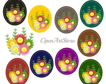 Flower Theme for Sticker