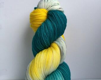 Dory hand dyed yarn 100% super soft Merino wool sport weight