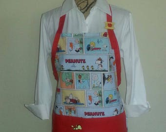 Peanuts Apron, Snoopy Apron, Charlie Brown Apron, Charles Schultz Apron