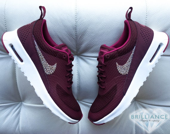 60%OFF Swarovski Nike Shoes Bling Nike Air Max Thea by BrillianceSupplyCo 709727fd77