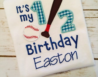 personalized half birthday boy shirt, half birthday shirt, cake smash outfit boy, 6 month photo outfit boy, 6 month birthday baseball shirt