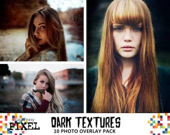 DARK TEXTURES OVERLAYS, Photoshop Overlays, Photoshop Overlay, Textures Overlays, Grunge Overlays, Grunge, Dark