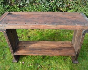 Rustic Kitchen Island/ Sideboard Table/ Butcher Block/ Display Table