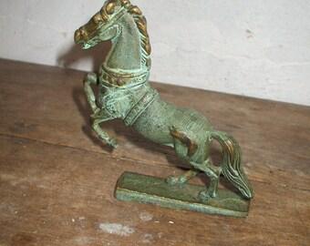 Small horse bronze