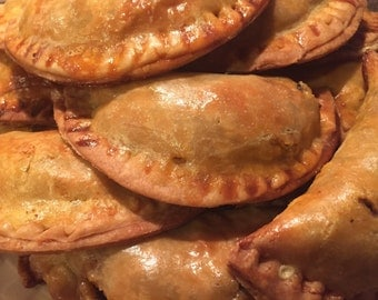 Organic Gluten Free Crumb Cake~Organic gluten free Empanadas~Organic gluten free pie crust~Organic Gluten Free Cannolis Holiday Celebration