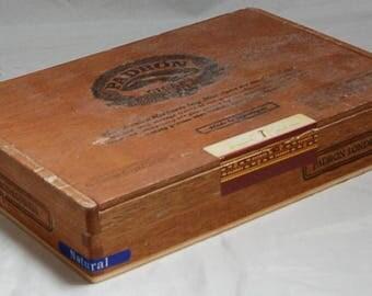 Padron Londres Wooden Empty Cigar Box