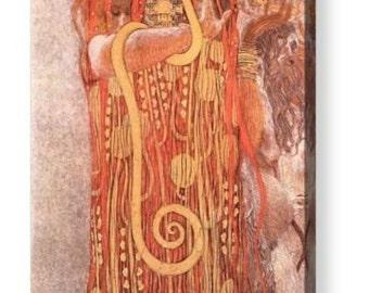 "Gustav Klimt ""Medicine"" Canvas Art Repro 8"" x 12"", 12"" x 16"", 14"" x 20"", 20"" x 30"""