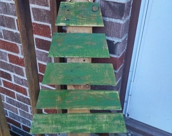 Pallet Wood Christmas Tree, Reclaimed Wood Christmas Tree