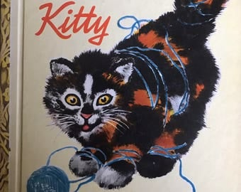 A Name for Kitty vintage Little Golden Book first edition Phyllis McGinley Feodor Rojankovsky 1948