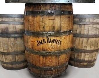 Customizable whiskey barrel pub table, game table, poker man cave bourbon home bar table , personalized logos & artwork