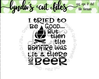 I tried to be good but then there was beer SVG/DXF/EPS file