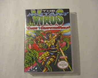 The Mutant Virus Custom NES - Nintendo Case (NO GAME)