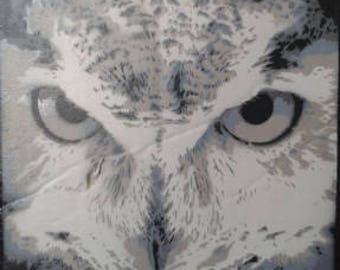 Fine Art Print/ Owl/ Uil/ Interior Poster