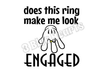 Does this ring make me look engaged SVG dxf pdf studio jpg png