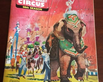 1968 Ringling Brothers Barnum & Baily Circus Souvenir Program