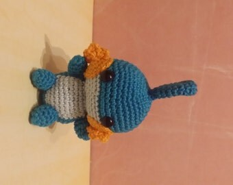 Pokemon Amigurumi Hydropi/ Mudkip versandfertig / ready to ship