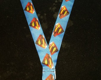 Superman lanyard L005